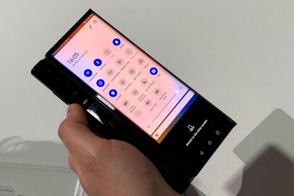 Huawei Mate X2 leak