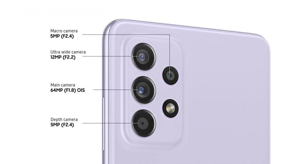 Galaxy A72 camera