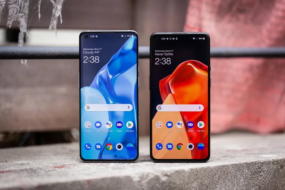Samsung S21 verses Oneplus 9