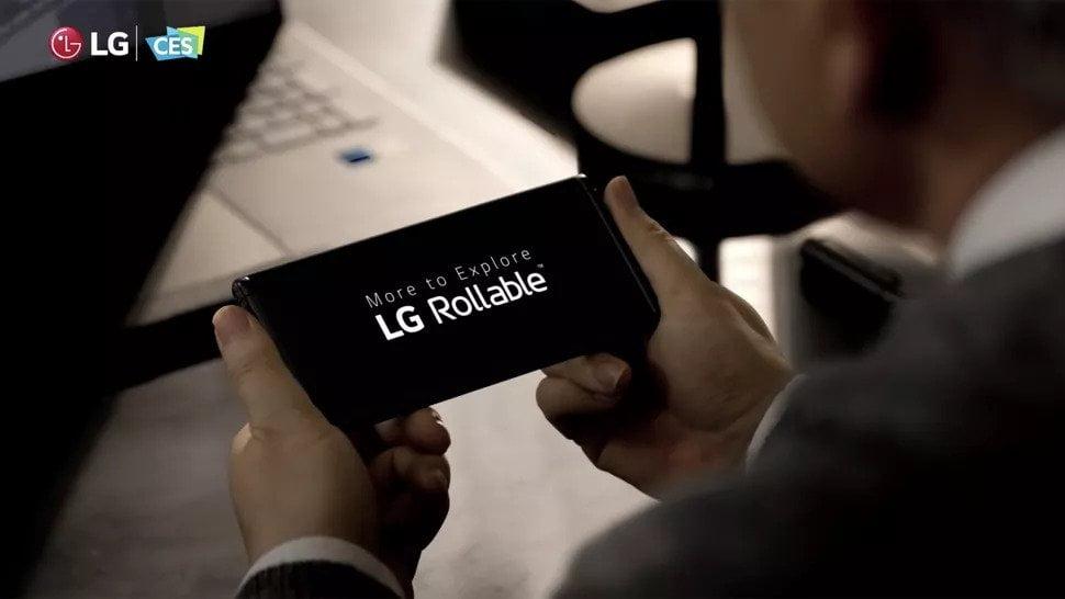 LG Rollable rumors