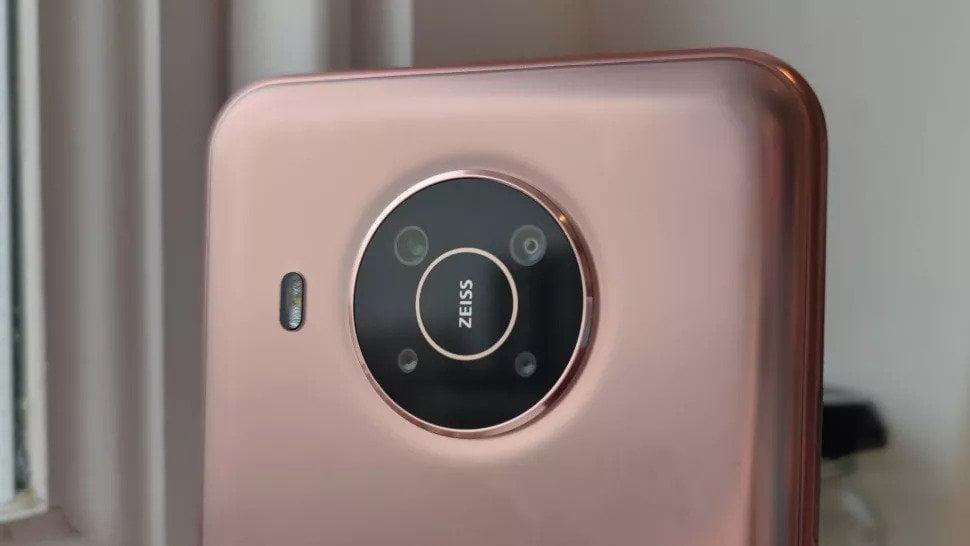 Nokia x20 rear camera