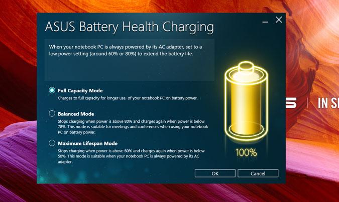 Battery performance of asus vivobook S510