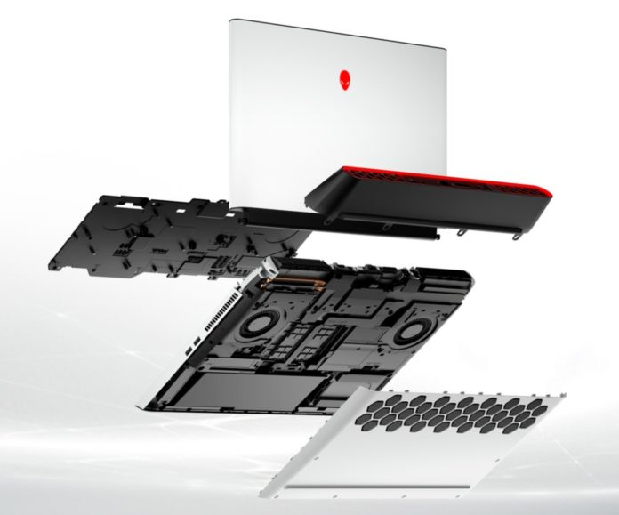 Gaming upgradeable laptops