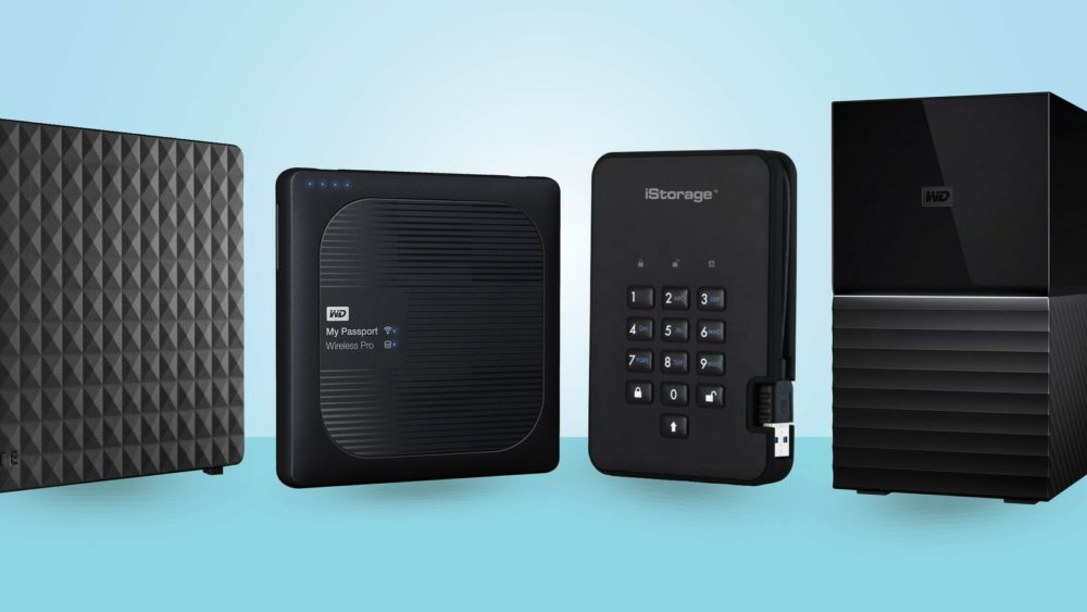 External drives for storage