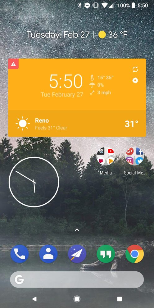 Best android and google pixel widgets