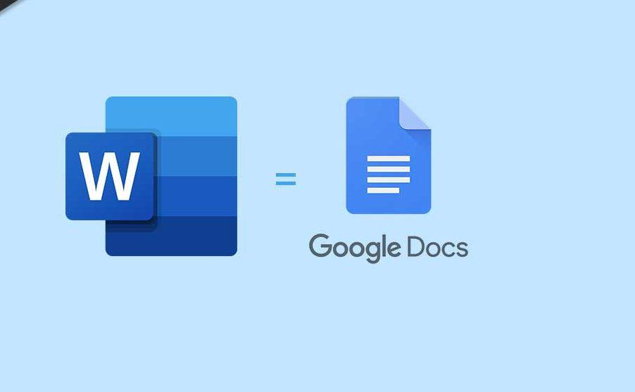 Save word to Google Docs