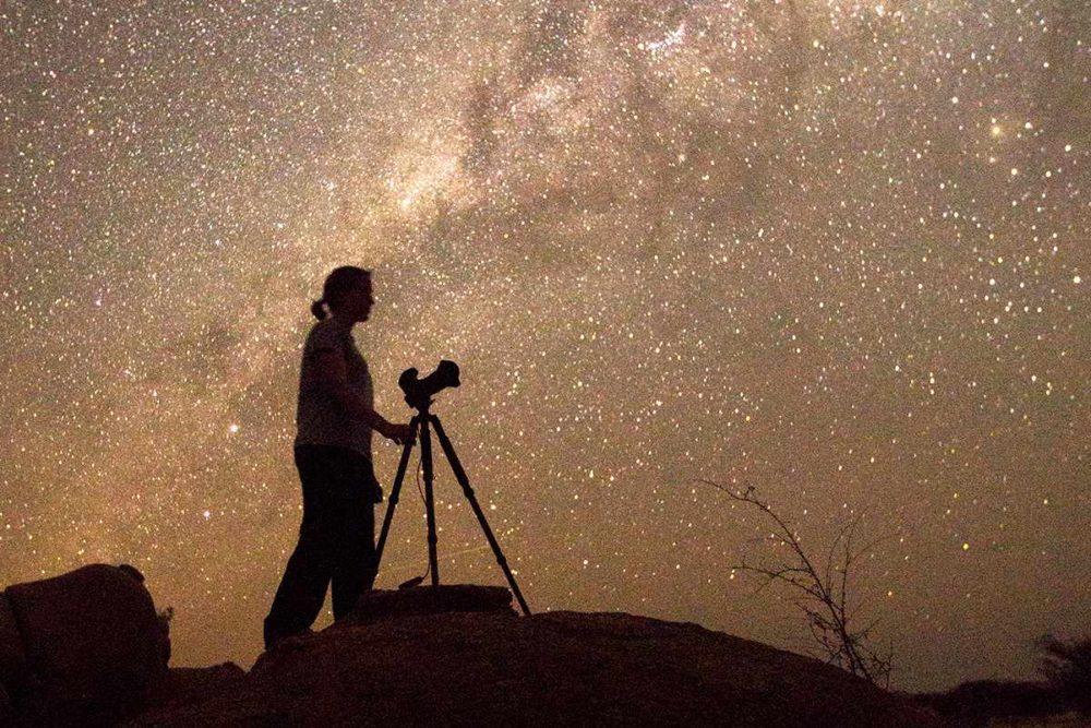 Astrophotography camera