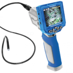 Top inspection camera for narrow places