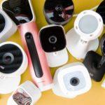 Security cameras for outdoor
