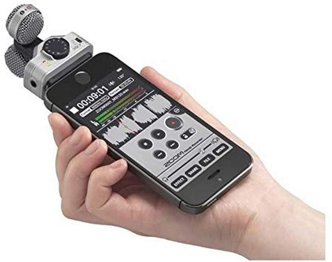 Zoom iQ microphones for smartphones