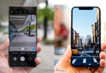 Top camera phones on marketplace